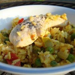 Arroz con Pollo (Baked Chicken and Rice) recipe