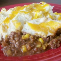 Taco Mashed Potato Casserole recipe