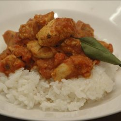 Chicken and Yoghurt Curry recipe