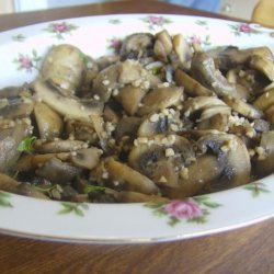 Sauteed  Mushrooms With Garlic recipe