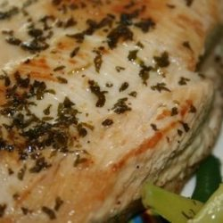 Broiled Chicken with Oil, Lemon, and Garlic Sauce recipe