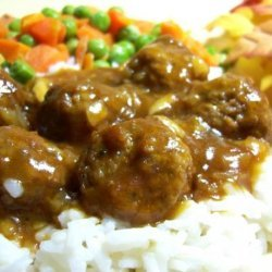 Quick n' Easy Meatballs N' Gravy recipe