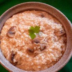 Mushroom Risotto in Pressure Cooker recipe