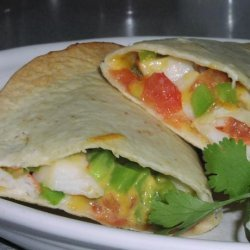 Ww 4 Points Crab Quesadillas recipe