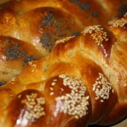 Challah (Braided Egg Bread) recipe