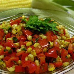 Corn and Red Pepper Medley recipe