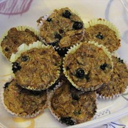 Healthy Fruit Muffins recipe