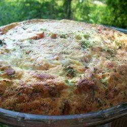 Savoury Impossible Pie recipe
