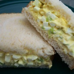 Deviled Egg Salad Sandwiches recipe