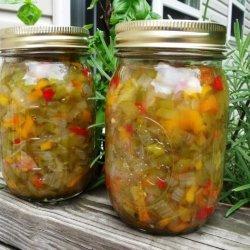 Hot Pepper Relish recipe