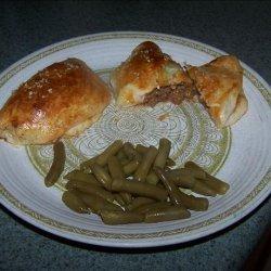 Cheeseburger Pockets recipe