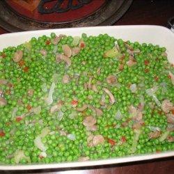 Aunt Marie's Peas recipe