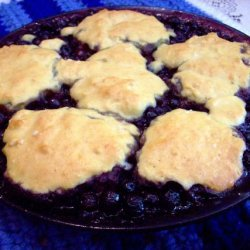My Blueberry Cobbler recipe