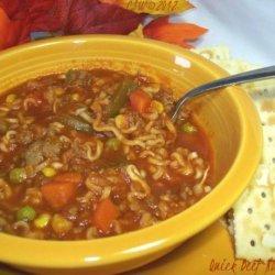 Quick Beef Noodle Soup recipe