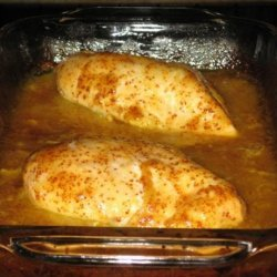 Golden Glazed Chicken recipe
