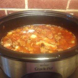 Cowboy Steak Chili in a Crock Pot recipe