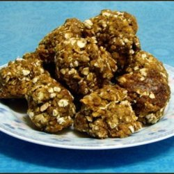 Low Fat Pumpkin Oatmeal Cookies recipe