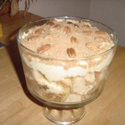 Toffee Apple and Honey Trifle recipe