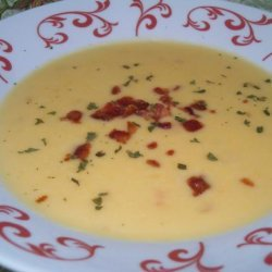Wisconsin Cheese Soup recipe