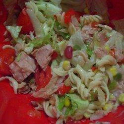 Tuna Pasta Salad (For the Lunch Box) recipe