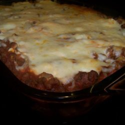 Italian sausage noodle bake recipe