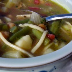 French Soupe Au Pistou recipe