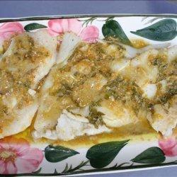 Tilapia W/ Citrus Bagna Cauda recipe