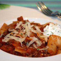 Karen's Skillet Lasagna recipe