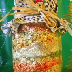 Soup Mix in a Jar recipe