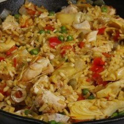 Mediterranean Chicken Paella recipe