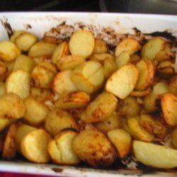 Mustard Roasted Red Potatoes recipe
