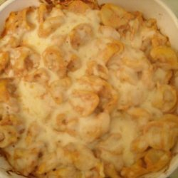 Cheesy Baked Tortellini - Giada recipe