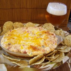 5 Things  Hot Mexican Green Chile Dip recipe