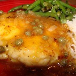Chicken Piccata Low Fat recipe