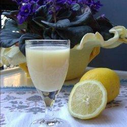 Lemon cream liqueur recipe