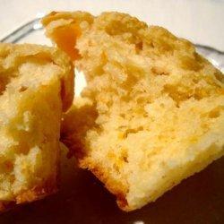 Golden Peach Muffins recipe