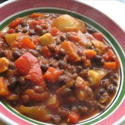 Vegetarian Black Bean Chili recipe