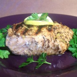 Citrus Infused Salmon With a Citrus Pepper Crust. recipe