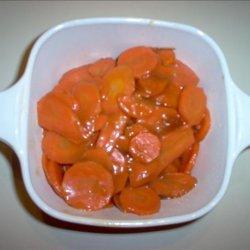 Kahlua Glazed Carrots recipe