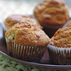 Sour Cream Rhubarb Muffins recipe