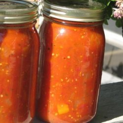 Italian Style Stewed Tomatoes -Good for Canning recipe