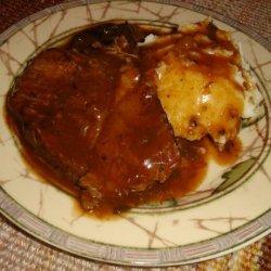 Italian Pot Roast for the Crock Pot recipe