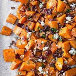 Sweet Potato and Apple Salad recipe