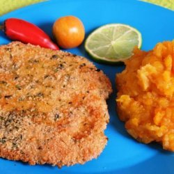 Herb Crusted Fish Fillets recipe