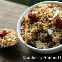 Baked Honey Granola recipe
