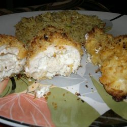Savory Stuffed Chicken Breasts (Seasoned Cream Cheese Stuffing) recipe