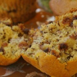 Banana Nut Chip Muffins recipe
