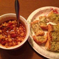 Pasta Fagioli Soup in a Crock Pot recipe