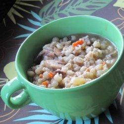 Mushroom and Barley Soup (Crock Pot) recipe