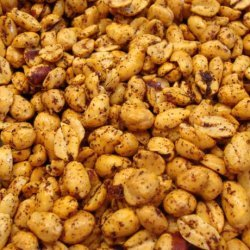 Hot and Spicy Peanuts recipe
